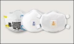 3M disposable respirators