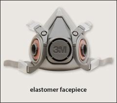 3M half masks - Half mask respirators, reusable