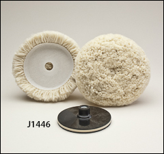 "5 inch  compounding buffs - Buffs for 3"" and 5"" pads"