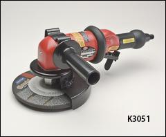 7 inch  type 27 wheel grinder, 1.00 HP, governed - Threaded spindle grinders