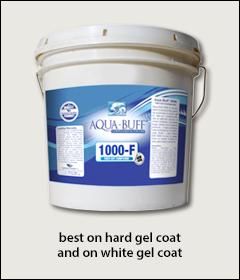 Aqua Buff 1000-F cutting compound - Aqua Buff compounds, polish