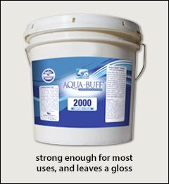 Aqua Buff 2000 polishing compound - Aqua Buff compounds, polish