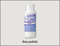 Aqua Buff GlossMaster polish - Aqua Buff compounds, polish