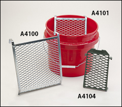 Bucket screen grids - Paint strainers