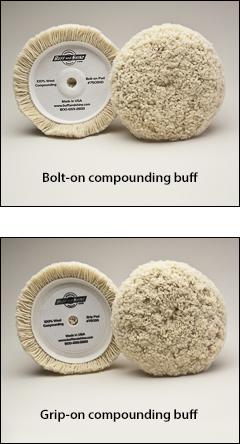 "Compounding buffs, #1 buff - Buffs for 7½"" pads"