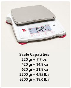Digital scales - Balances, scales