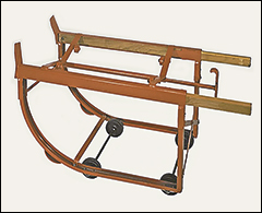 Drum cradle, deluxe - Cradles, dolly, lifters