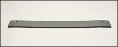 EPDM rubber refill blades, flat - EPDM rubber, flat edge