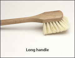 Fender brushes, long handle - Scrub brushes