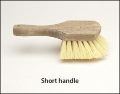 Fender brushes, short handle - Scrub brushes
