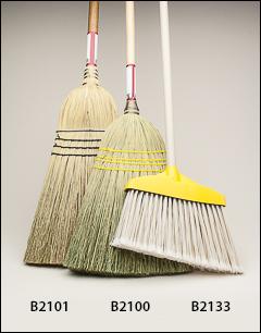Fine sweep broom - Push brooms, brooms