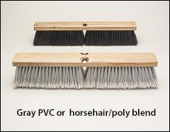 Fine sweeping floor brushes - Push brooms, brooms