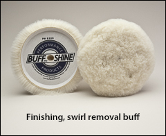 """Finishing, swirl removal buffs - Buffs for 7½"""" pads"""