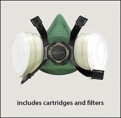Gerson half masks, limited use - Half mask respirators, limited use