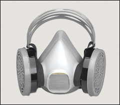 Half mask respirators, limited use - Half mask respirators