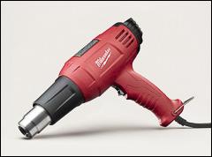 Heat gun - Misc. layup, sprayup