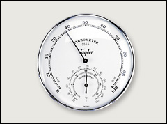 Hygrometer and thermometer - Temperature meters