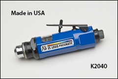 Inline drills, keyed chuck - Drills