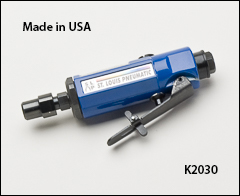 Inline mini grinder, 0.25 HP - Grinders with collets