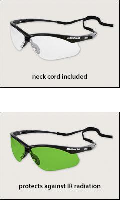 Jackson SG series - Standard safety glasses
