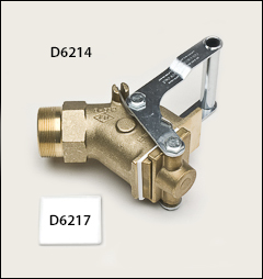 Justrite 2 inch  brass gate valve - Faucets for flammables