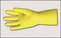 Latex gloves, flock lined - Latex and neoprene gloves
