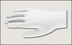 Latex gloves, unlined, powder-free - Latex and neoprene gloves
