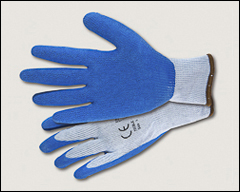 Latex palm coated knit gloves - Abrasion resistant gloves