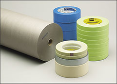 Masking tapes, paper, and film - Tape, film, paper