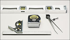 Measuring, layout - Hand tools