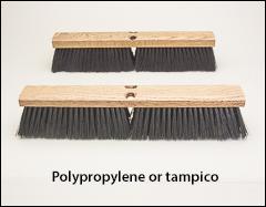 Medium sweeping floor brushes - Push brooms, brooms