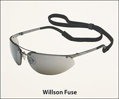 Metal frame, adjustable nosepads - Adjustable safety glasses