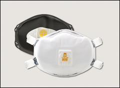 N100 respirator mask, 3M - 3M disposable respirators