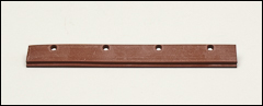 Natural rubber refill blades - Natural rubber squeegees
