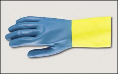 Neoprene over latex gloves - Latex and neoprene gloves