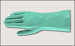 Nitrile gloves, flock lined - Nitrile gloves