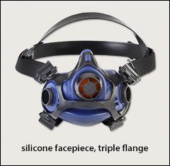 North RU8800 series, triple flange - North half masks