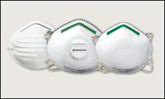 North disposable respirators