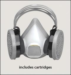 North half masks, limited use - Half mask respirators, limited use