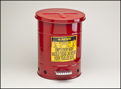 Oily waste can - Safety cans