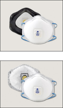 P95 respirator mask, 3M - 3M disposable respirators
