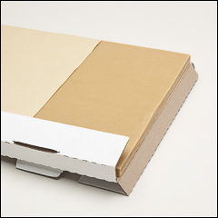 PL266 uncoated sheet wax - Freeman 266 Thermo-Stable sheet wax (1 of 3 formulas described below)