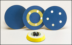 Pads for PSA and hook and loop discs - Backing pads