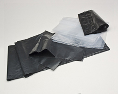 Pail liner bags, garbage bags - Pail liners, lid removers