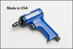 Pistol grip grinder, 0.50 HP - Grinders with collets