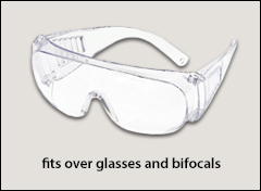 Plant visitor over-the-glasses series - Standard safety glasses