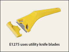 Plastic scraper, metal blades - Putty knives, scrapers