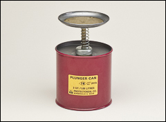 Plunger can - Safety cans