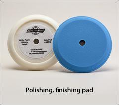 """Polishing, finishing foam pads - Buffs for 7½"""" pads"""