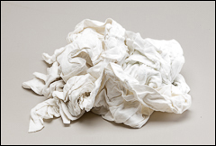 Polishing rags - Tack cloth, rags, cheesecloth